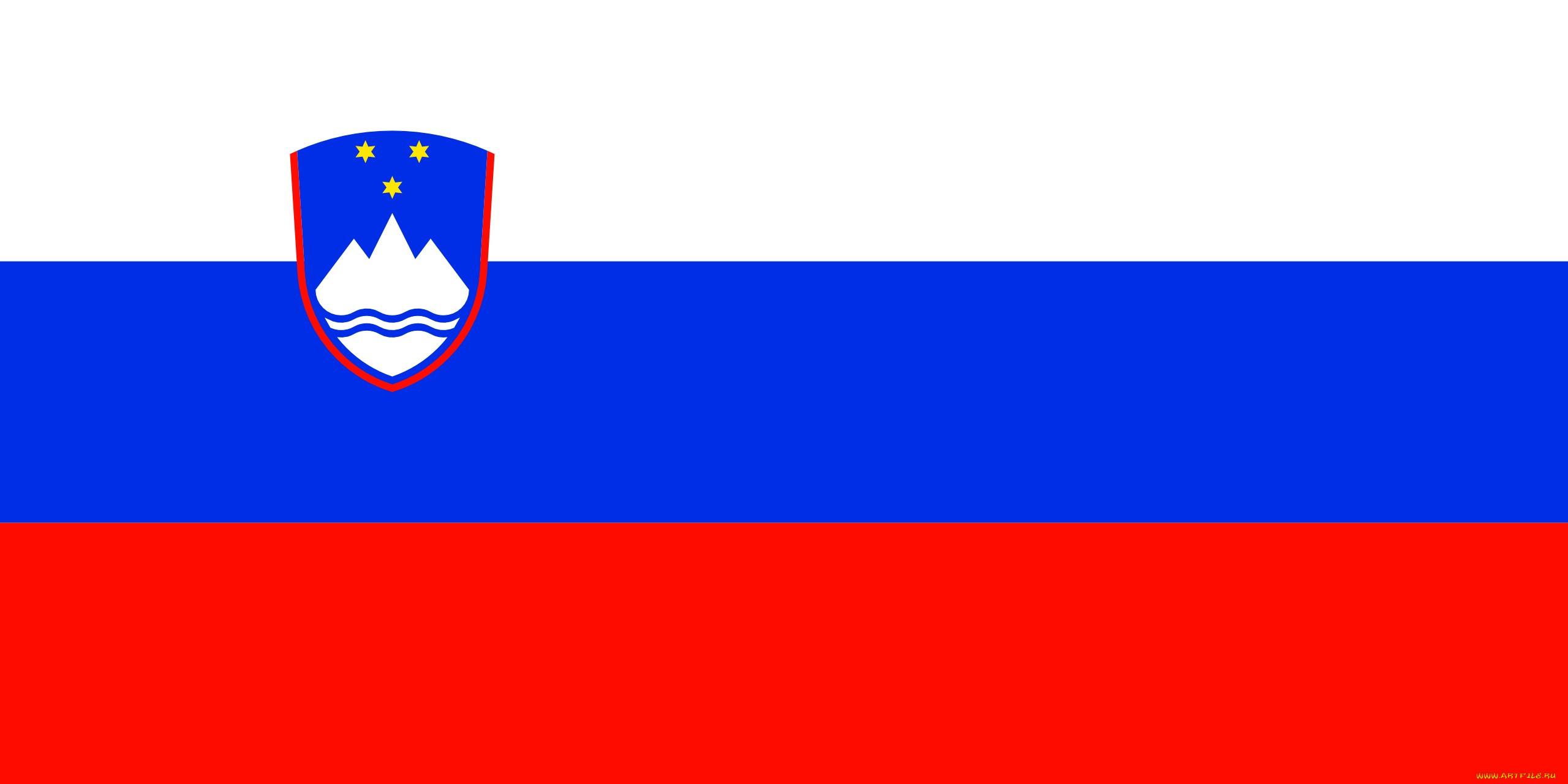 Словения разное флаги гербы обои для